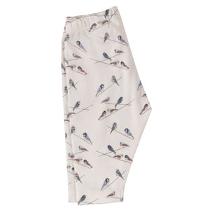 Pigeon Organics Capri Leggings - Birds