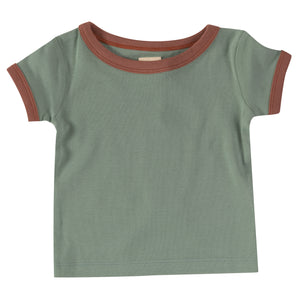 Pigeon Organics Retro T-Shirt - Green