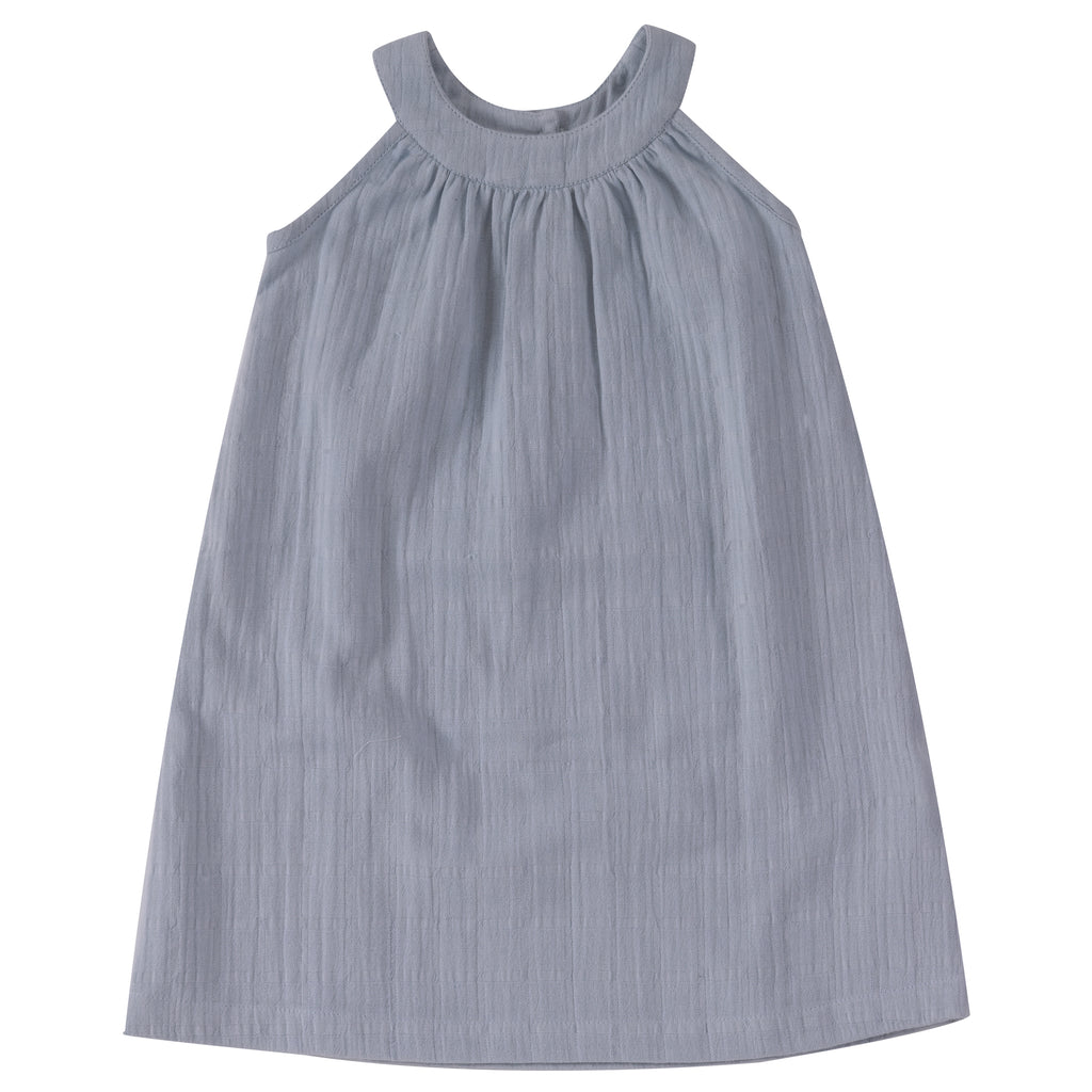 Pigeon Organics Sun Dress - Pale Blue