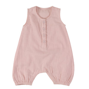 Pigeon Organics Baby All-In-One (Muslin) - Pink