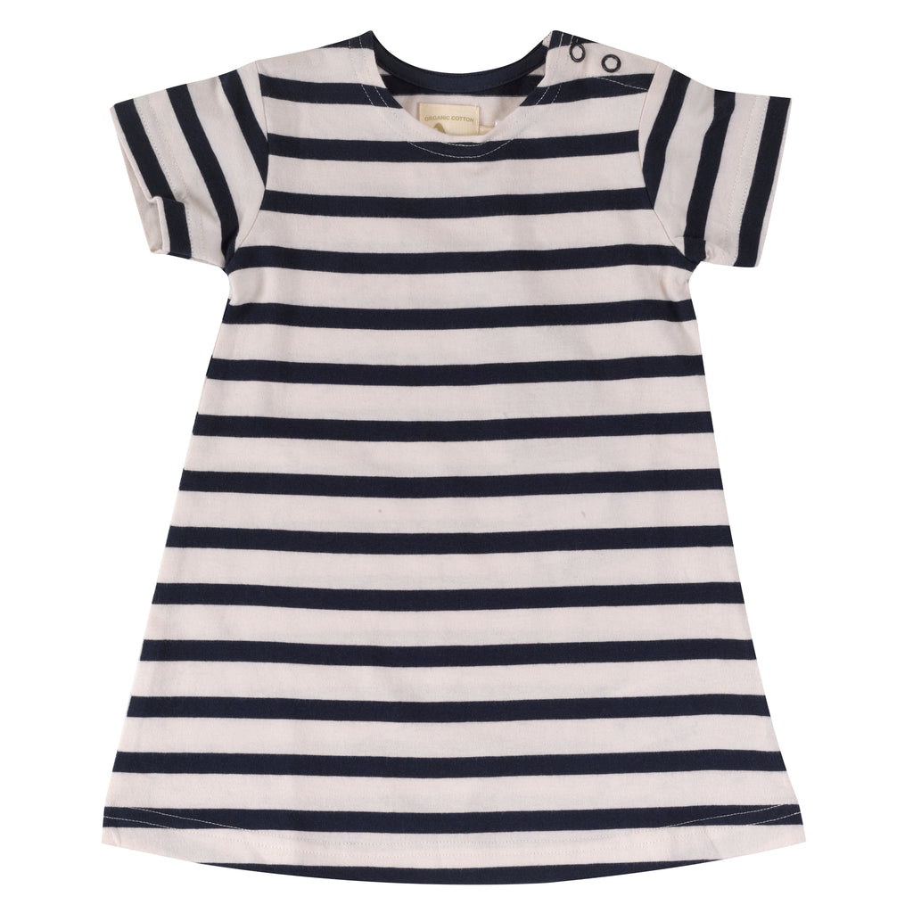Pigeon Organics Breton Dress - Navy