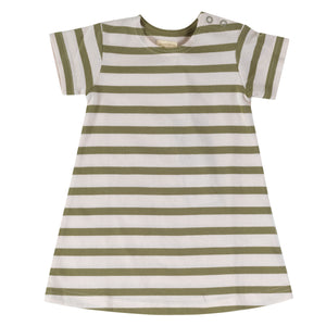 Pigeon Organics Breton Dress - Olive