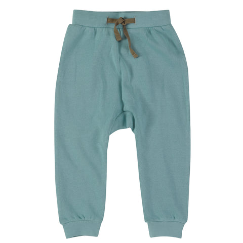 Pigeon Organics Jersey Joggers - Turquoise