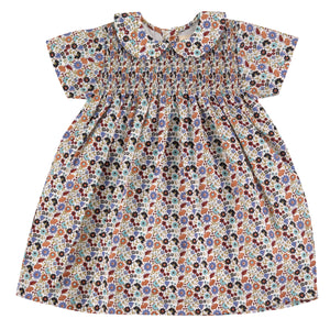 Pigeon Organics Smock Dress w/Peter Pan Collar - Ditsy