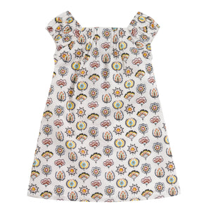 Pigeon Organics Square Neck Dress - Desert Flower