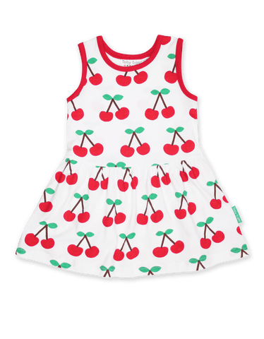 Image of Toby Tiger Cherry Print Summer Dress
