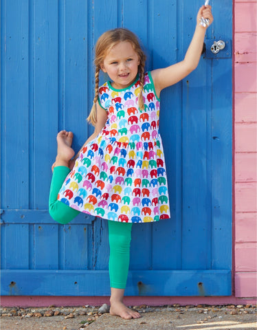 Toby Tiger Multi Elly Print Summer Dress