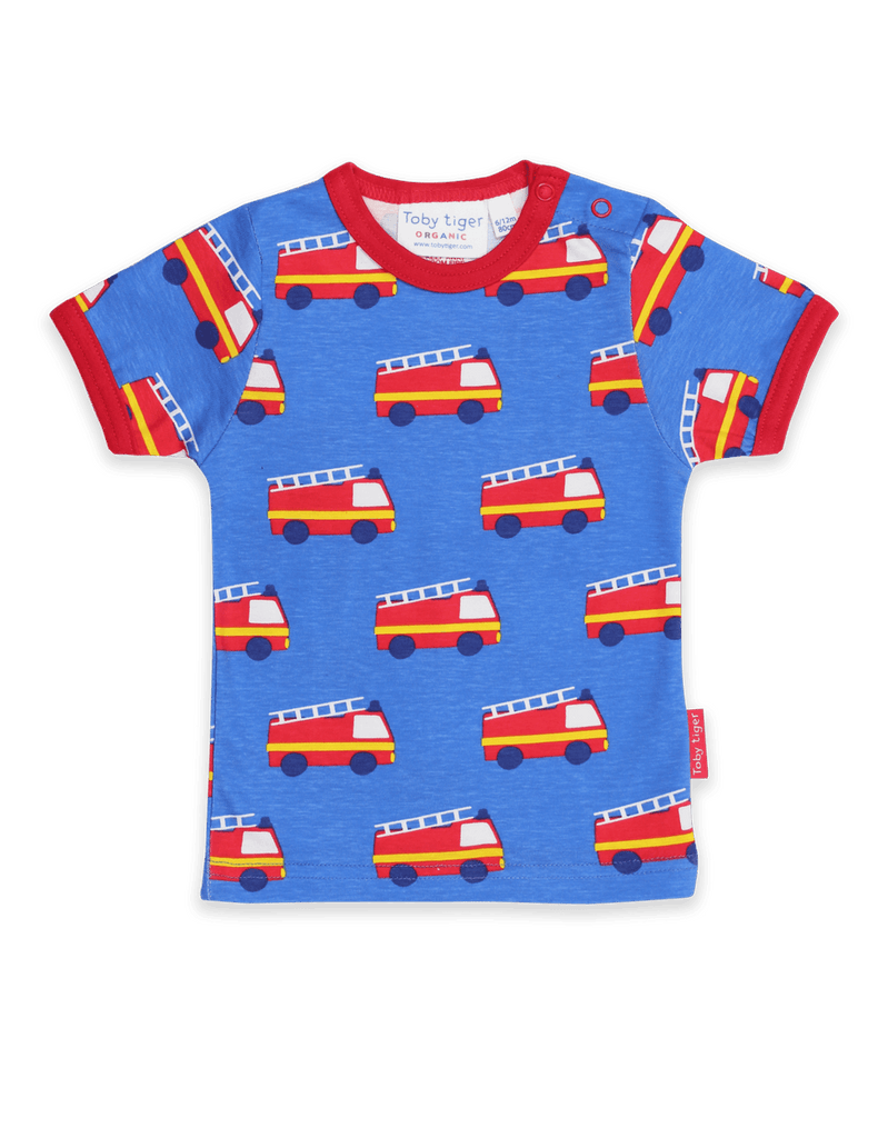 Toby Tiger SS T-Shirt - Fire Engine