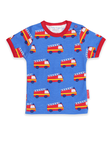 Image of Toby Tiger SS T-Shirt - Fire Engine