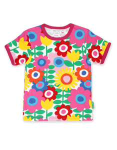 Toby Tiger Flower Power SS T-Shirt