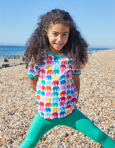 Image of Toby Tiger SS T-Shirt - Multi Elly