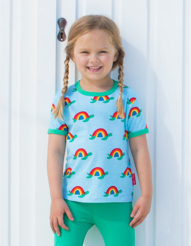 Image of Toby Tiger SS T-Shirt - Multi Turtle