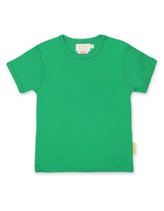 Toby Tiger Green Basic SS T-Shirt