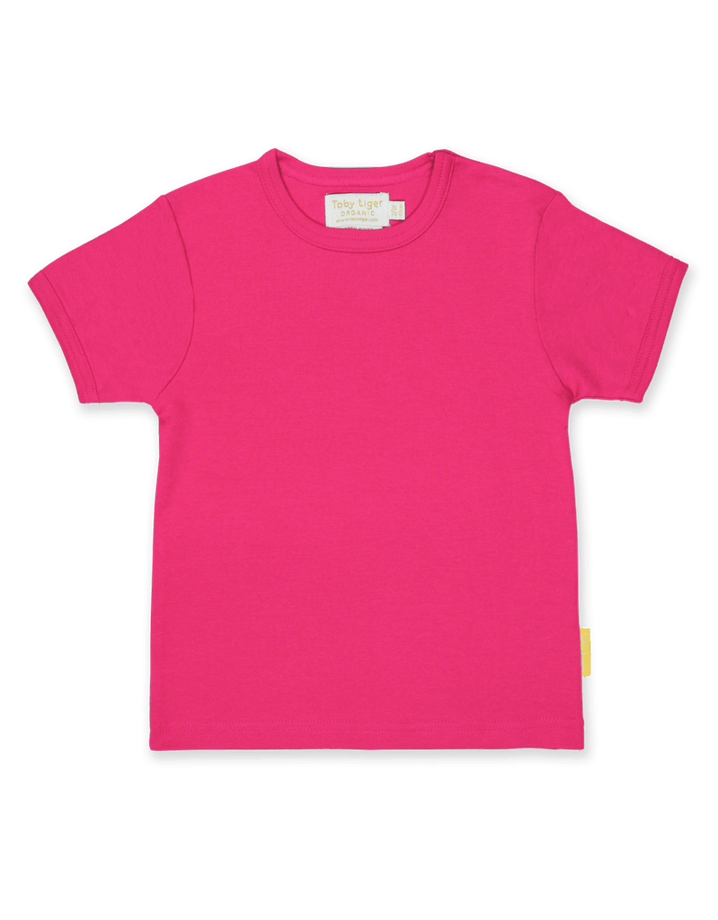 Toby Tiger Pink Basic SS T-Shirt