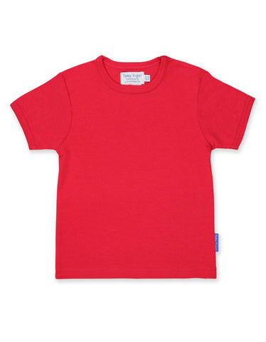 Toby Tiger Red Basic SS T-Shirt