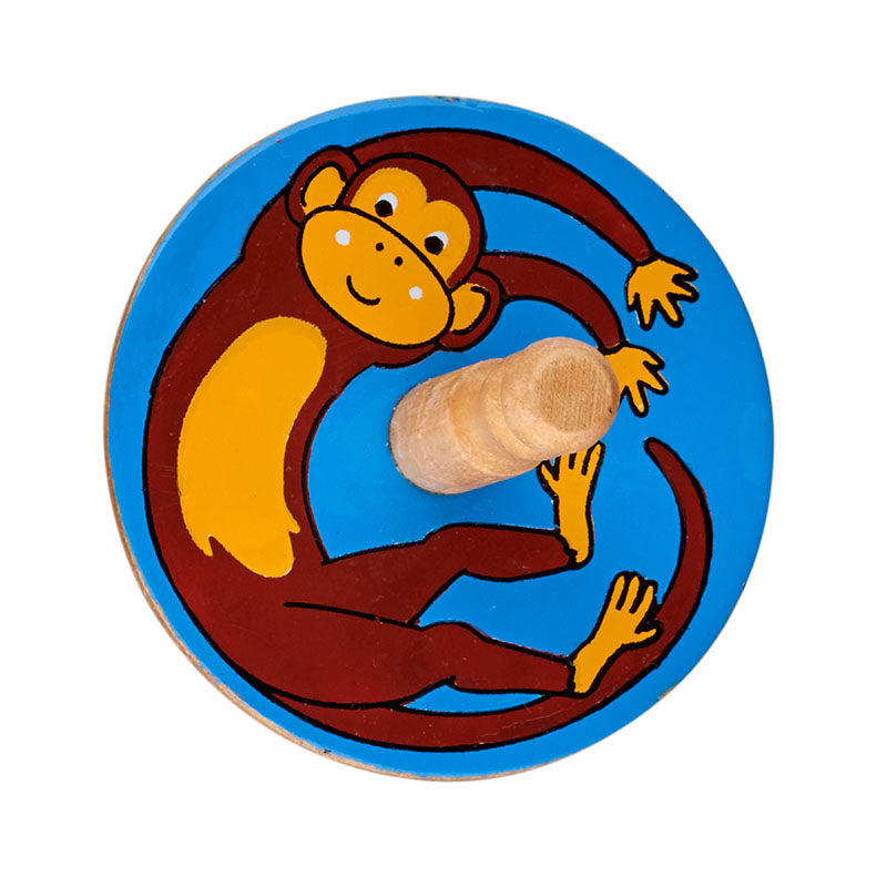 Lanka Kade Monkey Spinning Top