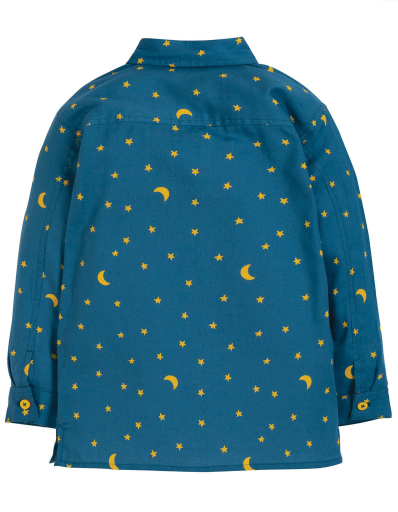 Frugi North Star Shirt - Moonlight