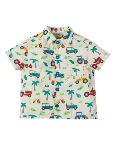 Frugi Harvey Hawaiian Shirt - Tropical Tresco - Tilly & Jasper