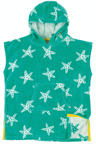 Frugi Havana Hooded Towel -  Pacific Starfish