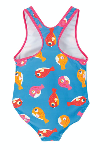 Image of Frugi Sally Swimsuit - Puffer Fish