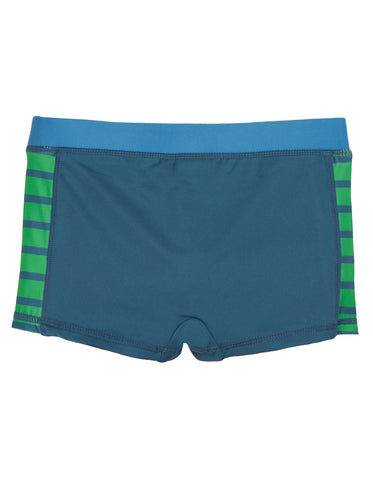 Frugi Tidal Wave Trunks - India Ink/Crocs