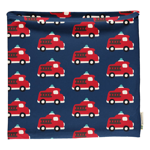 Maxomorra Velour Scarf Tube -  Fire Truck