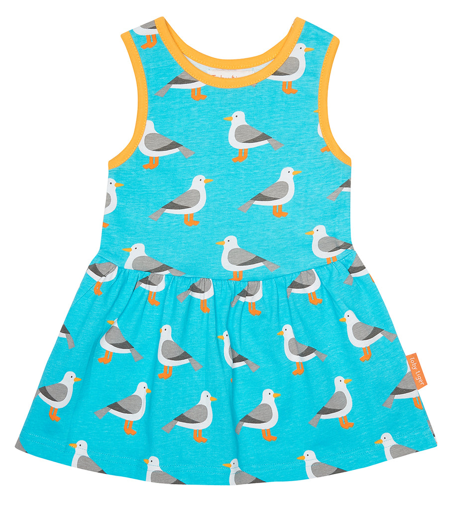 b8788dd83fe Seagull Summer Dress - Organic Cotton – Tilly   Jasper U.K