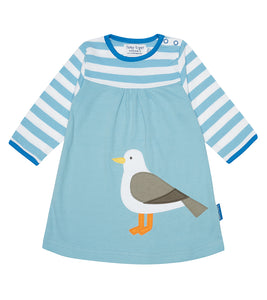 Seagull T-Shirt Dress - Organic Cotton