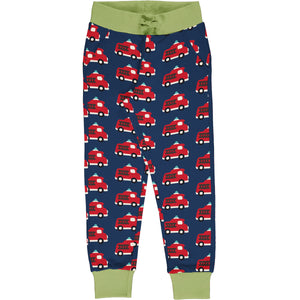 Maxomorra Sweatpants - Fire Truck