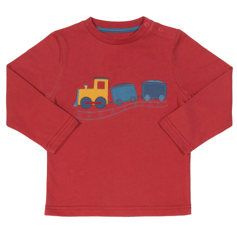 Kite Choo Choo T-shirt - Organic Cotton