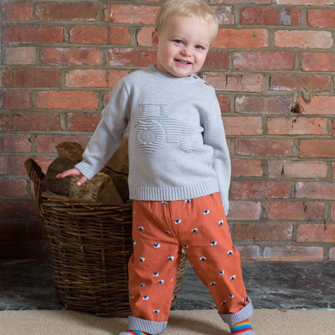 Kite Tractor Jumper - Organic Cotton