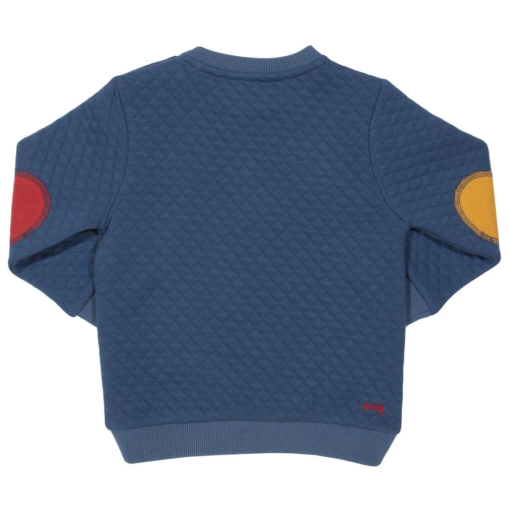 Kite Quilted Star Sweatshirt
