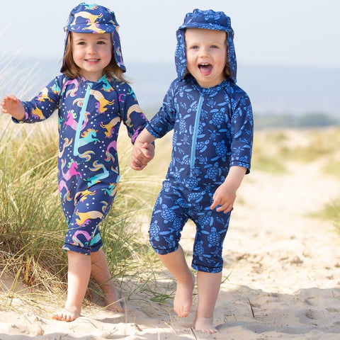 Kite Turtle Sunsuit