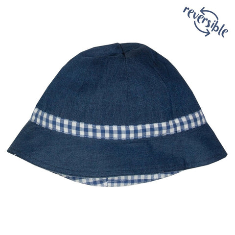 Image of Kite Gingham Sun Hat