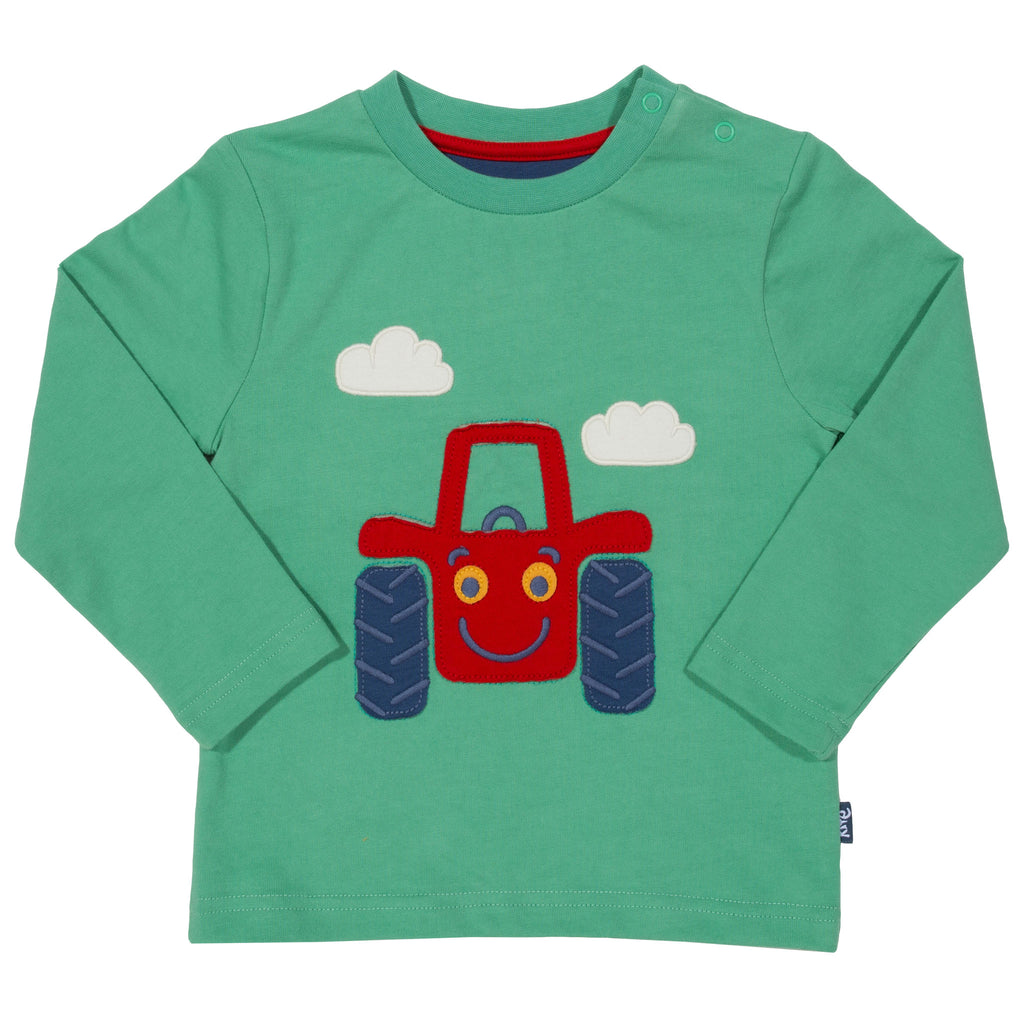 Kite Happy Tractor T-Shirt