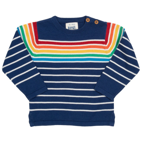 Image of Kite Retro Rainbow Jumper