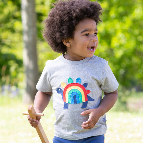 Image of Kite Rainbow-Saurus T-shirt