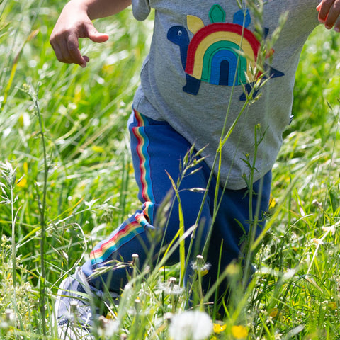 Image of Kite Rainbow Stripe Joggers