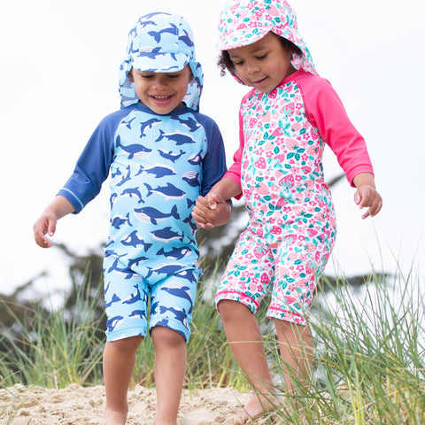 Kite Flippers & Fins Sunsuit