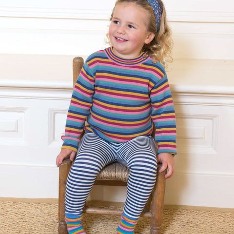 Image of Kite Rainbow Stripe Jumper