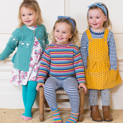 Kite Rainbow Stripe Jumper