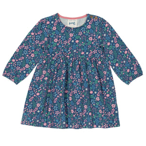 Kite Acorn ditsy dress - Organic Cotton