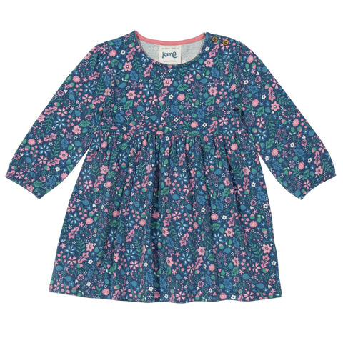 Image of Kite Acorn ditsy dress - Organic Cotton