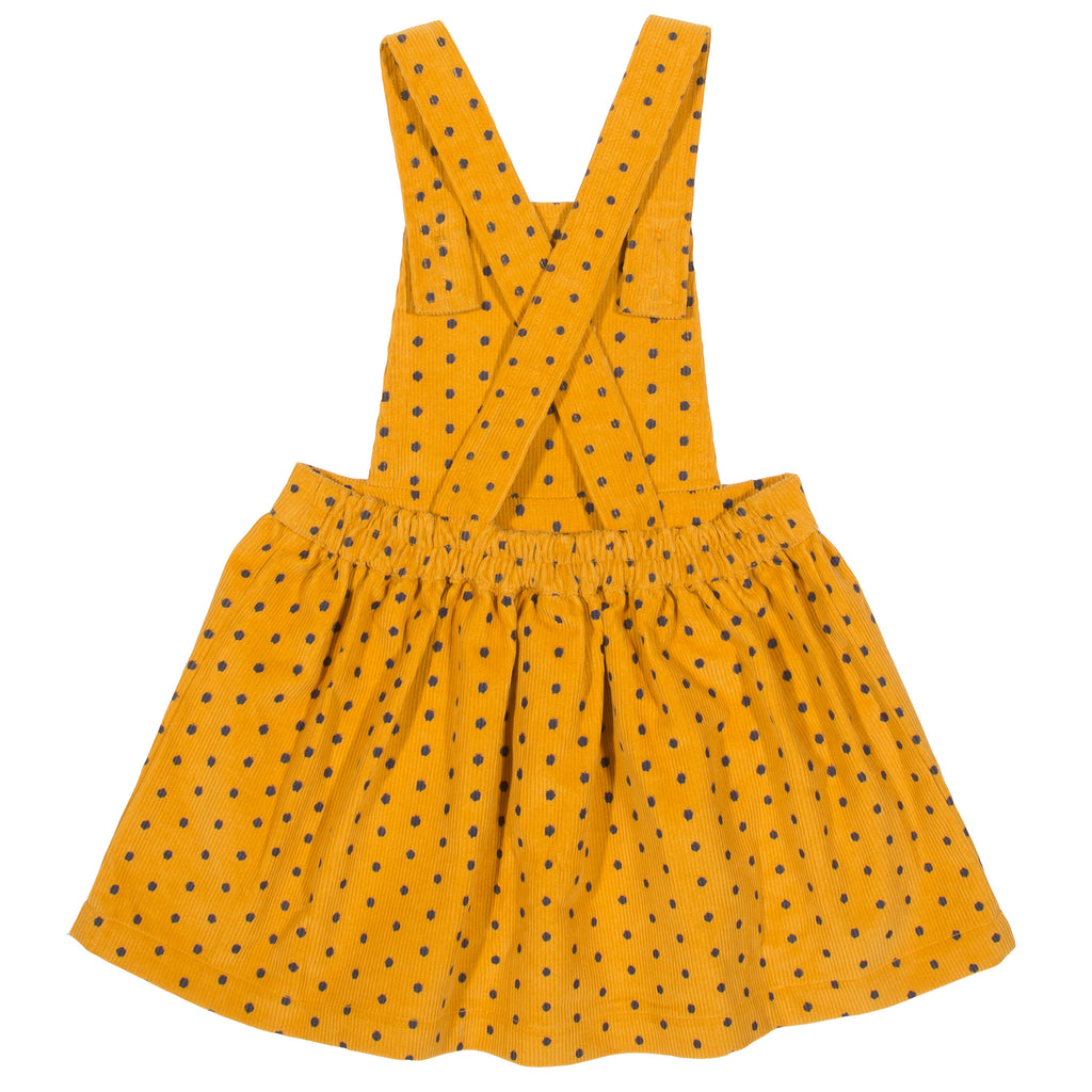 Kite Polka Heart Pinafore - Tilly & Jasper