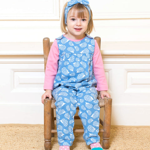 Kite Hedgehog dungarees- Organic Cotton