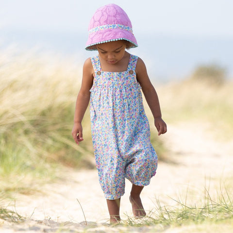 Image of Kite Broderie Sun Hat - Tilly & Jasper