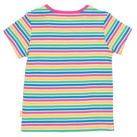 Image of Kite Mini Bright Stripe T-shirt