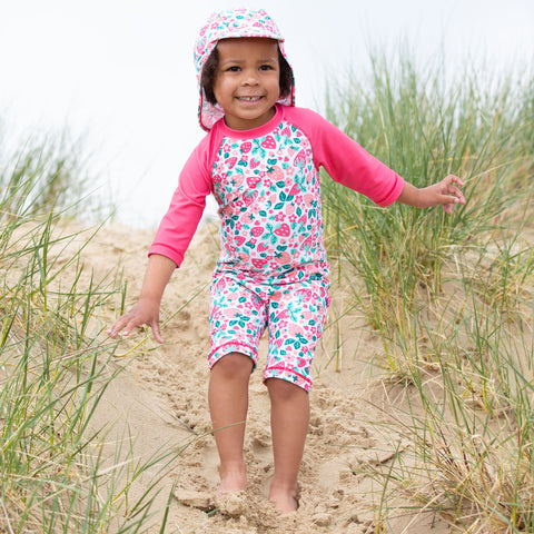 Image of Kite Very Berry Sunsuit