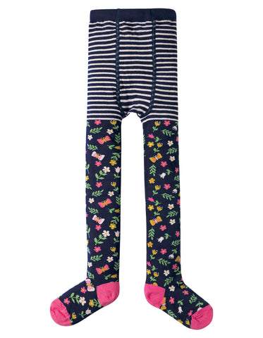 Frugi Norah Tights - Alpine Floral