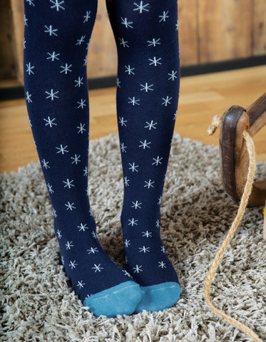Frugi Norah Tights - Christmas Fairisle